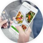 Jedzenie na telefon