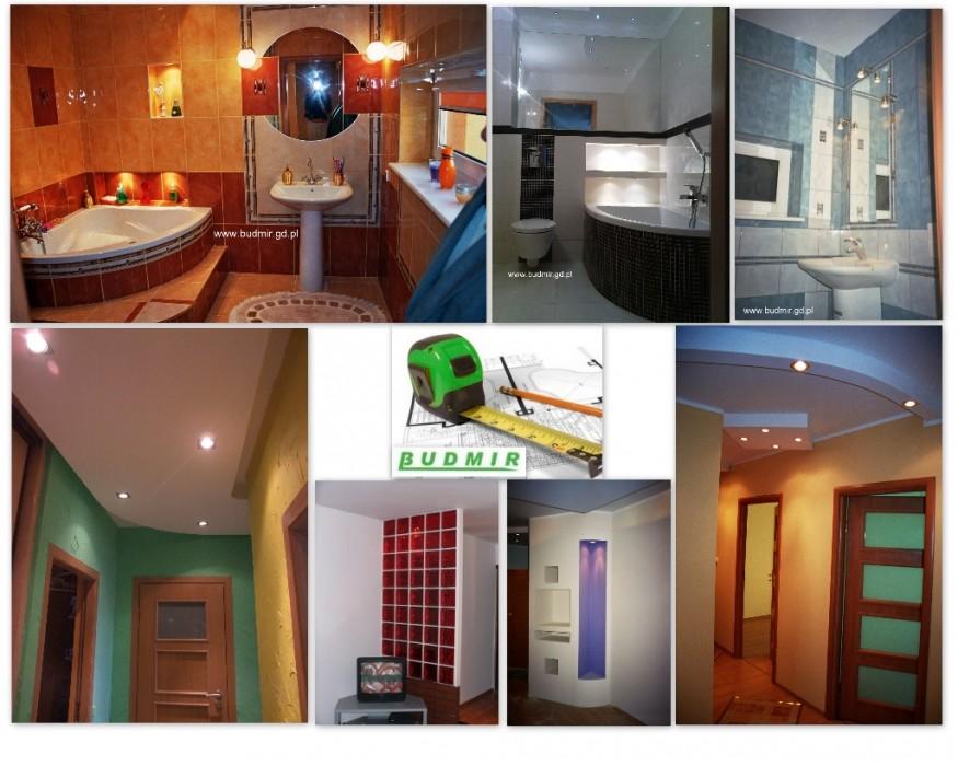 Usługi remontowo budowlane: KAFELKOWANIE, MALOWANIE, CYKLINOWANIE