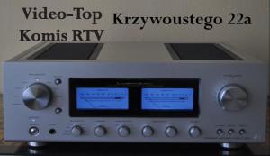 amplitunery wzmacniacze tunery gramofony komis video-top