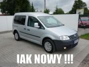 Volkswagen Zadbany Caddy 1.9 LIFE TDI 105 KM 7 Foteli Klimatyzacja