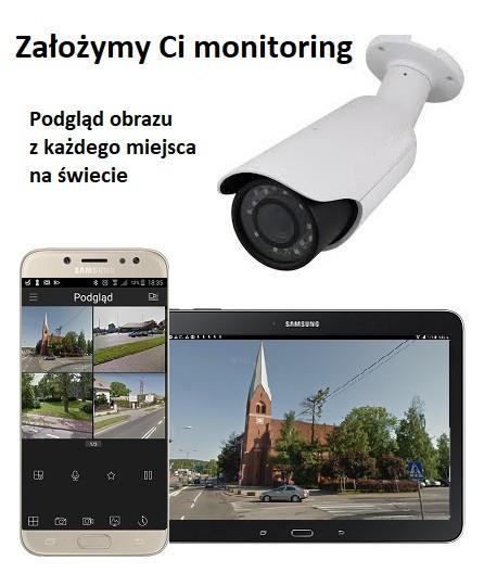 Monitoring Kamery, rejestratory wideo Montaż, serwis