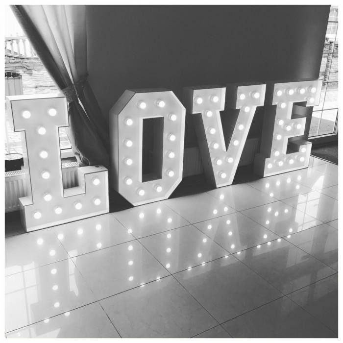 Napis LOVE   MIŁOŚĆ na wesela: zdjęcie 80000216