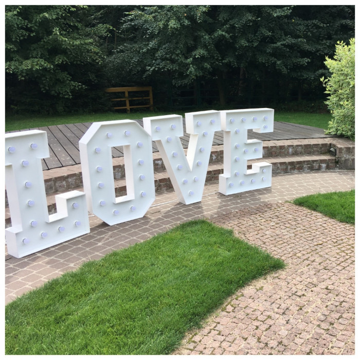 Napis LOVE   MIŁOŚĆ na wesela: zdjęcie 80000218