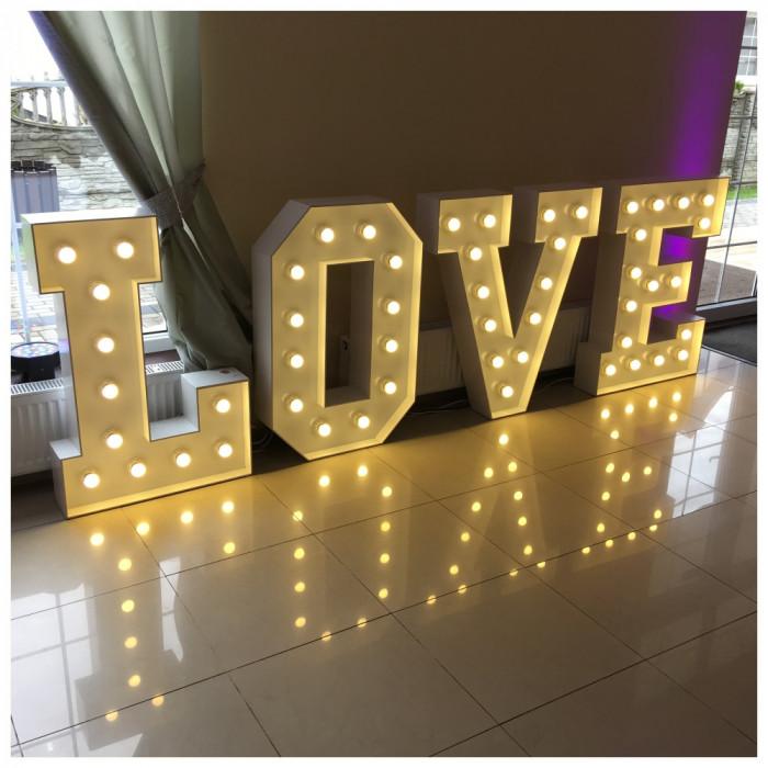 Napis LOVE   MIŁOŚĆ na wesela: zdjęcie 80000219