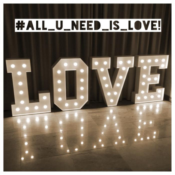 Napis LOVE   MIŁOŚĆ na wesela: zdjęcie 70624882
