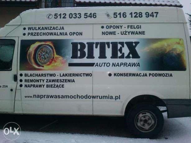 Wulkanizacja Rumia Firma Bitex Wymiana Opon Najniższe Ceny