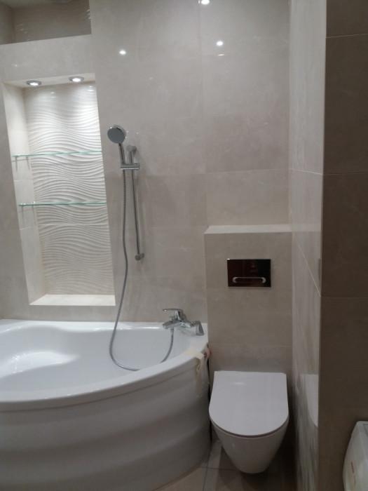 Remonty łazienek , układane płytek prace hydrauliczne ,kabiny prysznicowe szklane: zdjęcie 72614633