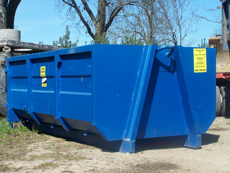 Wynajem kontenera wywóz odpady, śmieci, gruz TRÓJMIASTO