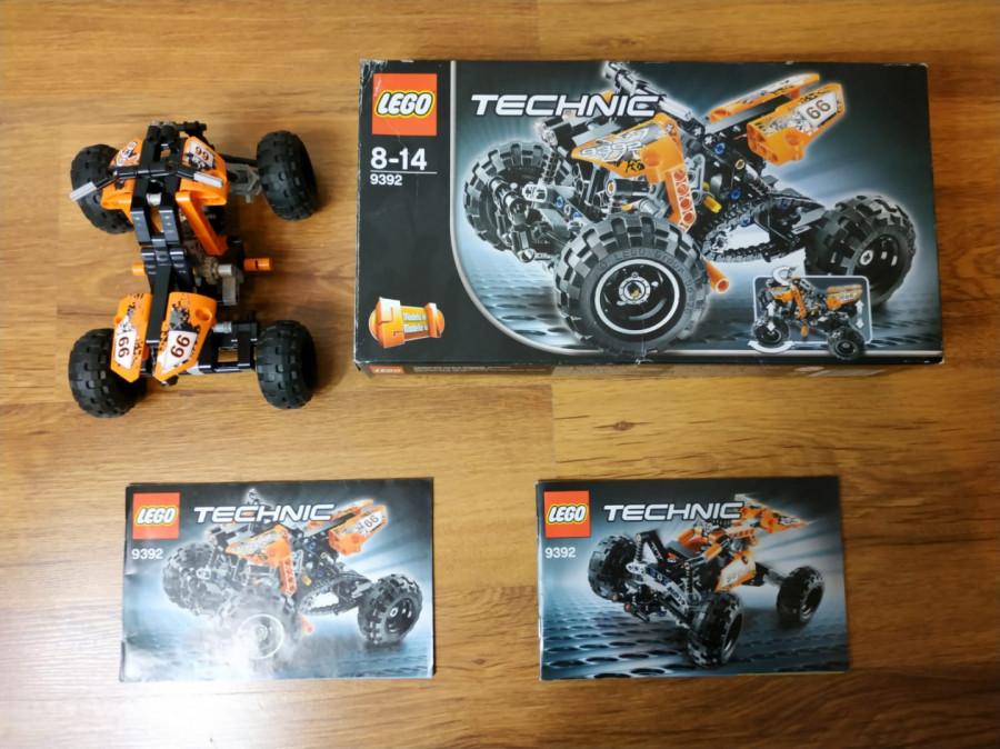 Lego Technic 9392 2w1 quad