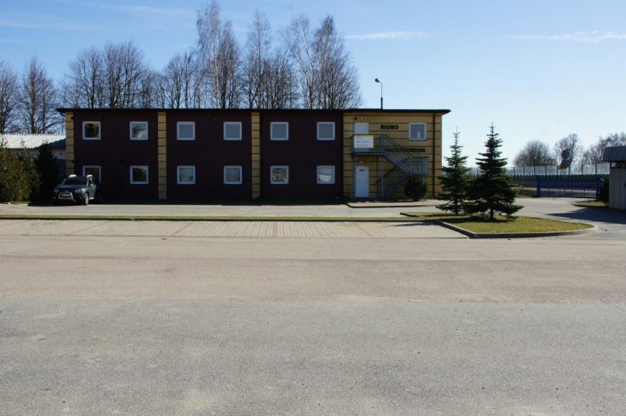 Place składowe z powierzchnią biurową bezpośrednio przy drodze E7