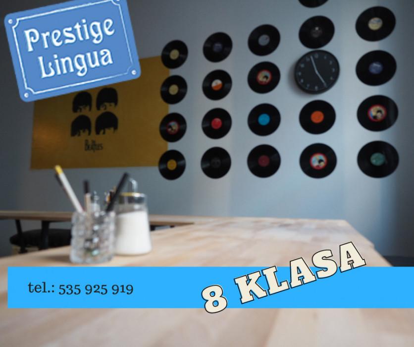 Egzamin ósmoklasisty z angielskiego - w Prestige Lingua: zdjęcie 84543090
