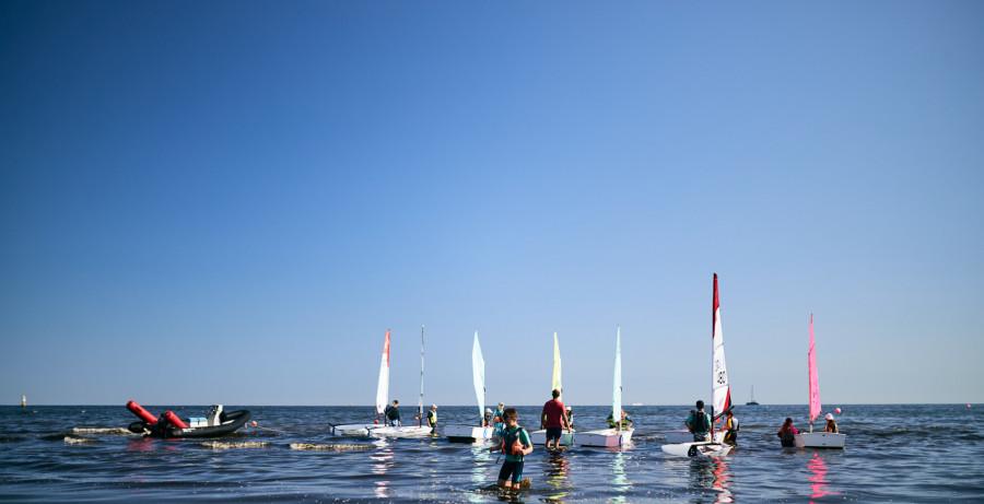 Półkolonie żeglarskie OPTymist Sopot 2021 Bon Turystyczny: zdjęcie 87032015