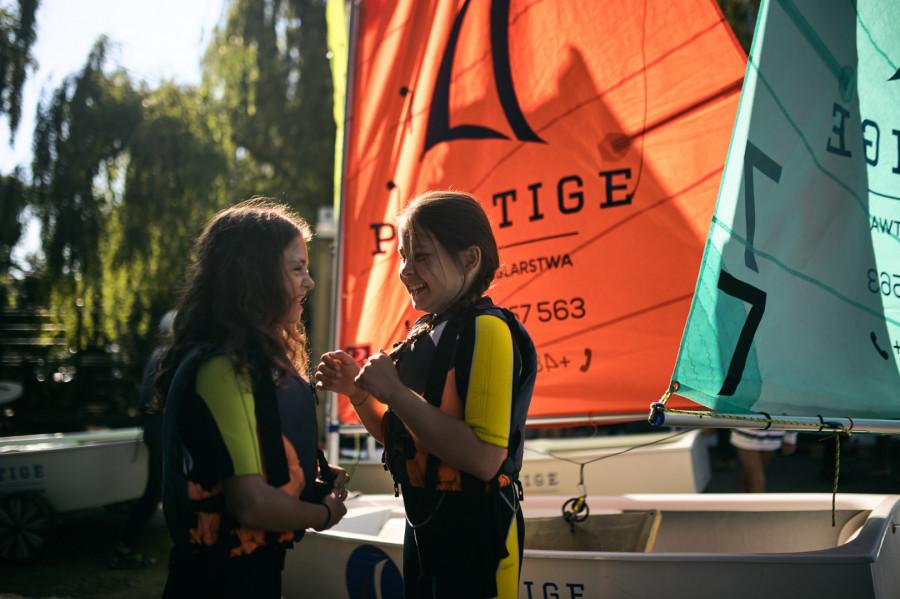Półkolonie żeglarskie OPTymist Sopot 2021 Bon Turystyczny: zdjęcie 87032020