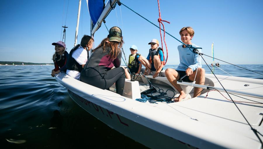 Półkolonie żeglarskie OPTymist Sopot 2021 Bon Turystyczny: zdjęcie 87032023