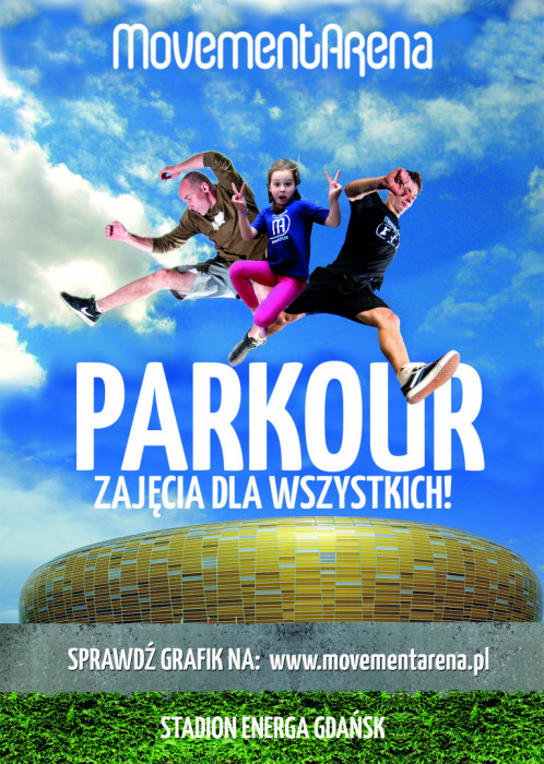 Zajęcie Sportowe Parkour - dla dzieci, młodzieży i dorosłych
