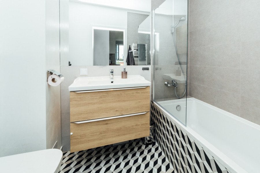 Apartament 3 pokoje, 2 sypialnie plus miejsce w garażu.: zdjęcie 83081645