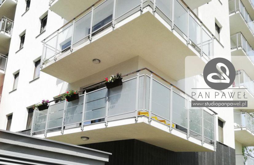 usługi oklejania szyb - oklejanie balkonów, folia szroniona, matowa: zdjęcie 83086928