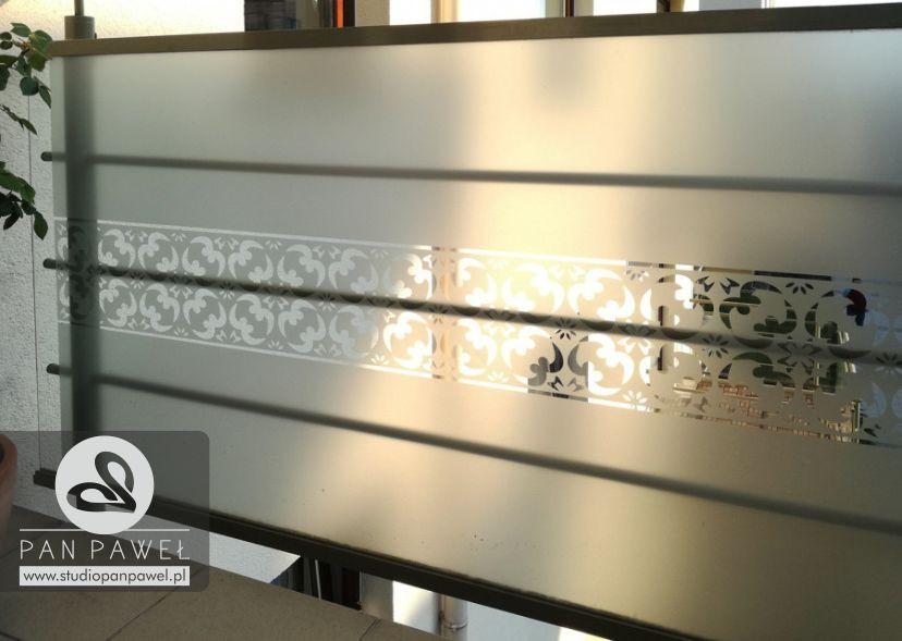 usługi oklejania szyb - oklejanie balkonów, folia szroniona, matowa: zdjęcie 83086936