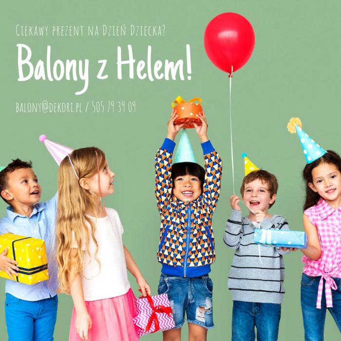Balony z Helem Gdynia Dzień Dziecka | Poczta Balonowa Trójmiasto: zdjęcie 83093863