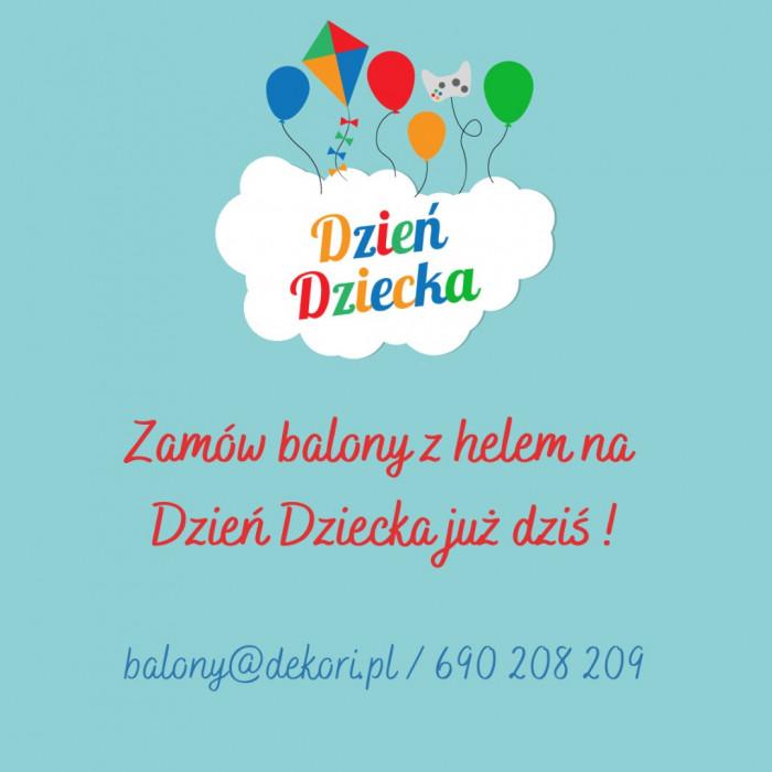 Balony z Helem Gdynia Dzień Dziecka | Poczta Balonowa Trójmiasto: zdjęcie 83093865