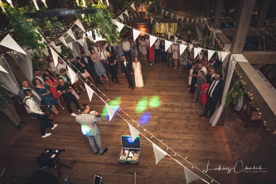 Iluzjonista na wesele - Tomasz Jusza: zdjęcie 84400184