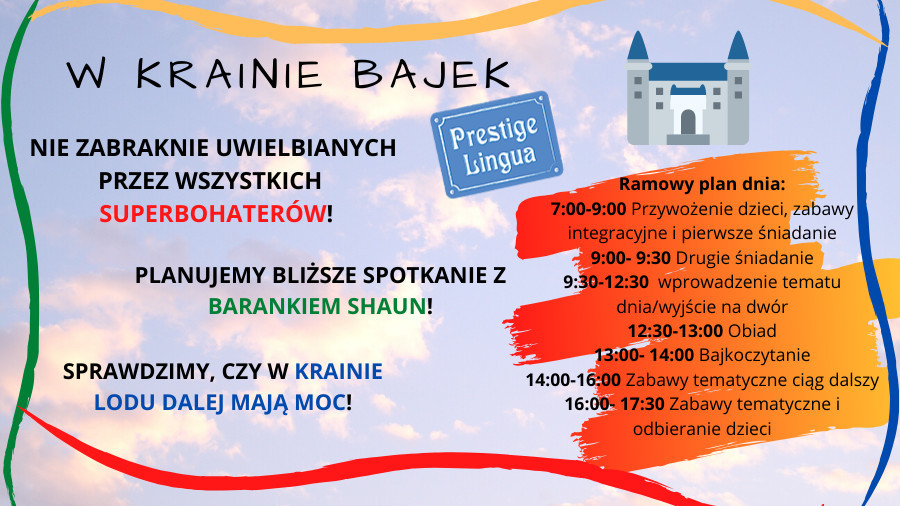 English Summer Camp - W Krainie Bajek