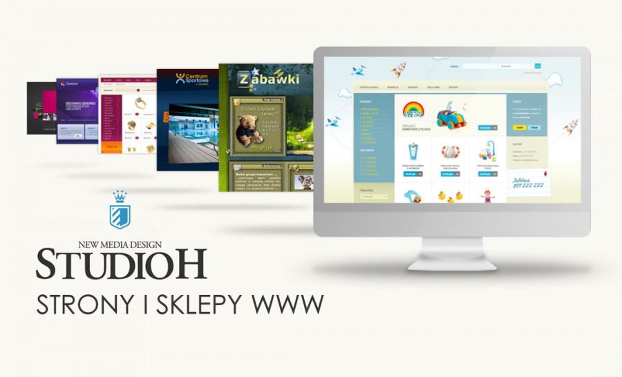 Profesjonalna Strona www lub Sklep internetowy z dedykowaną grafiką !