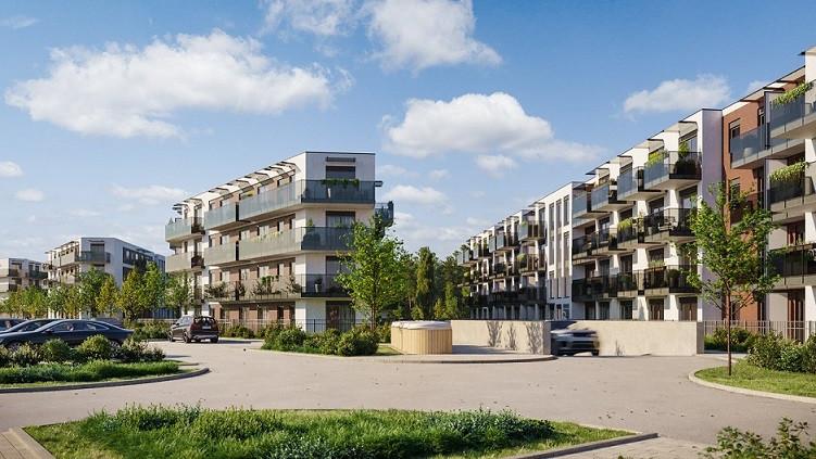 Pruszcz Park C32- mieszkanie 1-pokojowe na II pietrze z balkonem: zdjęcie 87487507