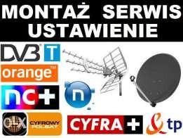 Montaż/Serwis/Ustawianie Anten Satelitarnych oraz Naziemnych DVB-T