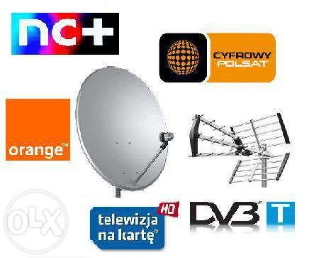 Montaż/Serwis/Ustawianie Anten Satelitarnych oraz Naziemnych DVB-T: zdjęcie 84311715