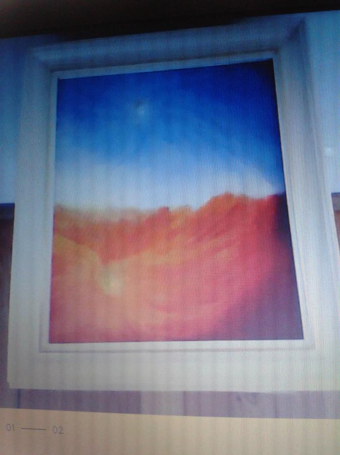 Sprzedam obraz olejny - Bardzo ladny ! Widok pustynny ! Super cena !!!