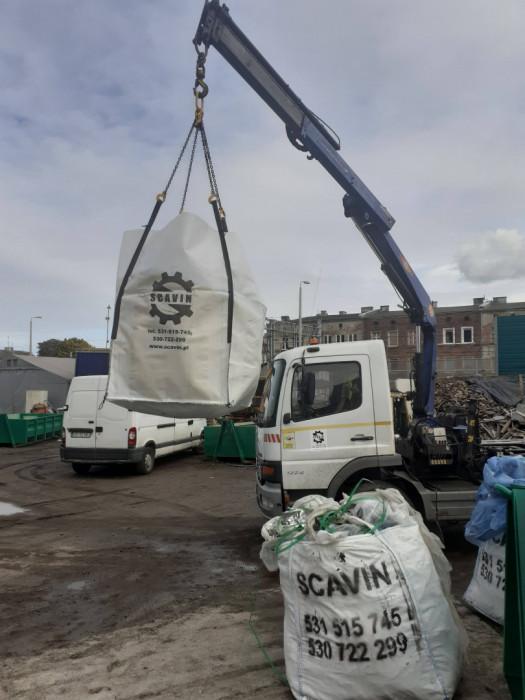 Wynajem kontenerów, worków big-bag, wywóz złomu, usługi rozbiórkowe: zdjęcie 84943872