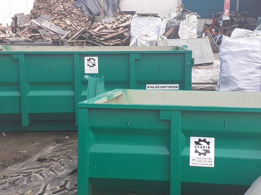 Wynajem kontenerów, worków big-bag, wywóz złomu, usługi rozbiórkowe: zdjęcie 84943875