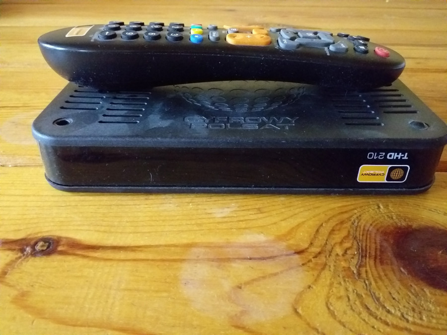Sprzedam dekoder cyfrowy Polsat + antenę 80