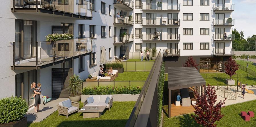 Mieszkanie 3-pok. | Taras | SKM