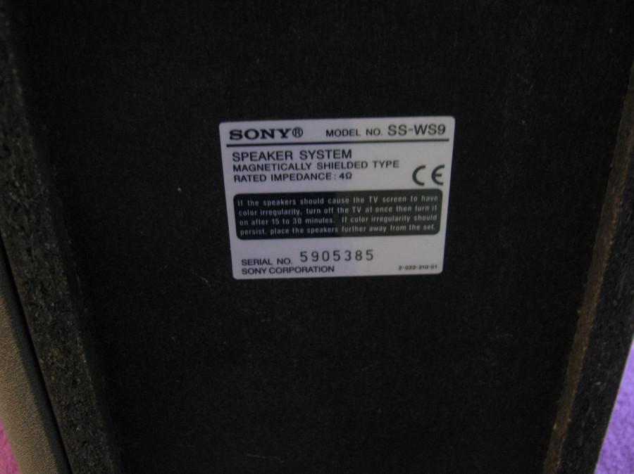 Subwoofer SONY SS-WS9 mega bass (duży) kino domowe: zdjęcie 86303750