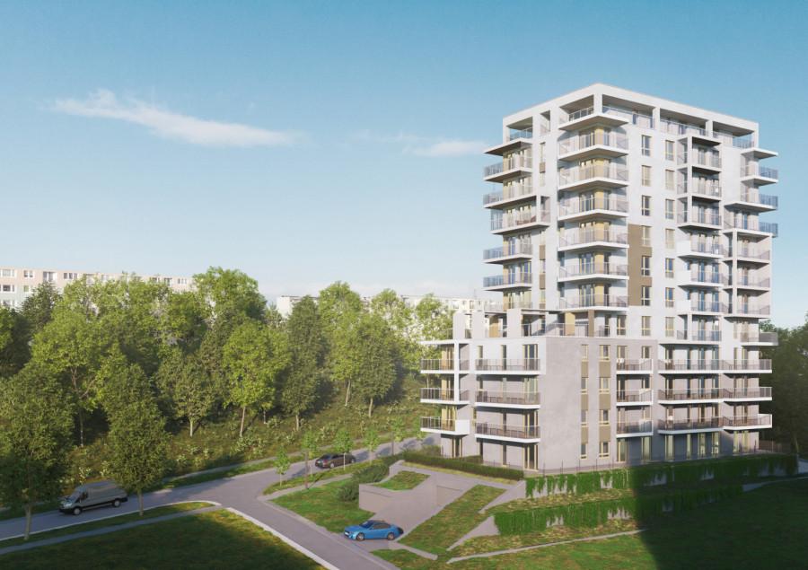 Nowoczesne mieszkanie trzypokojowe - Port Deco M5