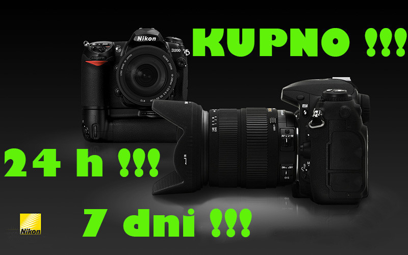 Aparat-Lustrzanka Nikon - Kupno