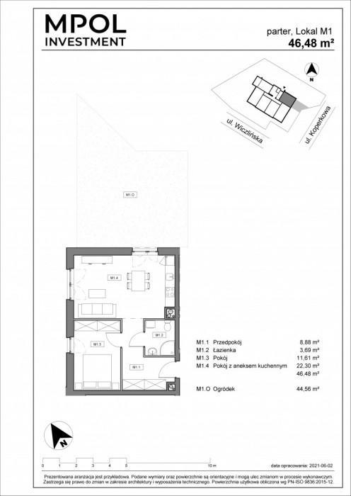 Przedsprzedaż !!!! Twoja Dąbrowa mieszkanie z ogródkiem: zdjęcie 86990558