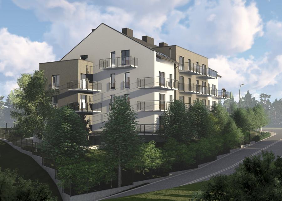 Nowa inwestycja !!! Twoja Dąbrowa !!! 2 pokojowe słoneczne mieszkanie: zdjęcie 86973155