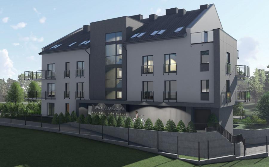 Nowa inwestycja !!! Twoja Dąbrowa !!! 2 pokojowe słoneczne mieszkanie: zdjęcie 86973159