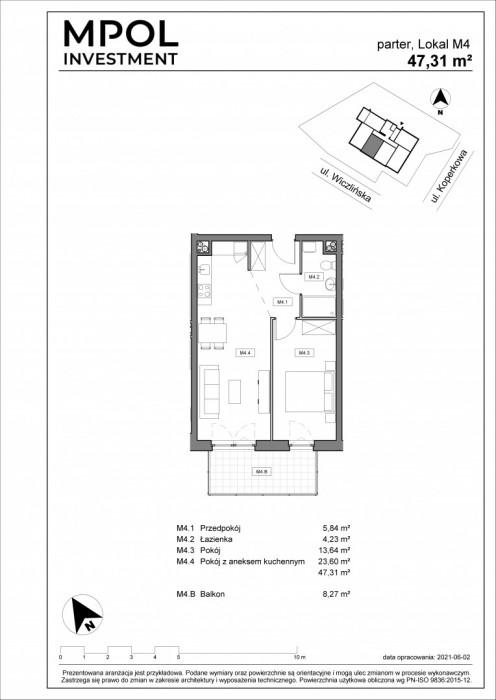 Nowa inwestycja !!! Twoja Dąbrowa !!! 2 pokojowe słoneczne mieszkanie: zdjęcie 86982070