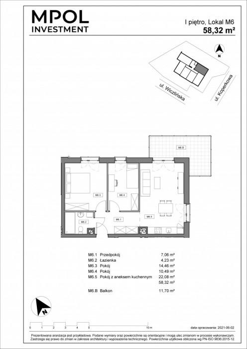 Twoja Dąbrowa !!! NOwa inwestycja ! 3 pokoje z balkonem narożnym: zdjęcie 86982133