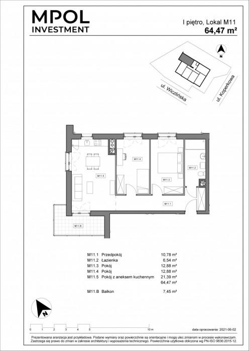 Nowa inwestycja ! Twoja Dąbrowa !! 3 duże pokoje: zdjęcie 86990251