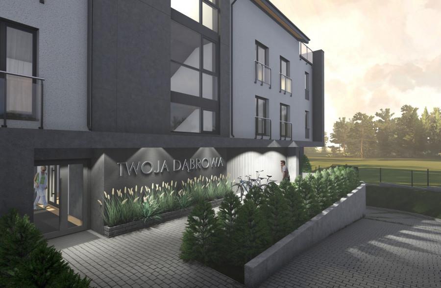 Nowość !! Twoja Dąbrowa !!! 4 pokojowe mieszkanie z tarasem i balkonem: zdjęcie 86973610