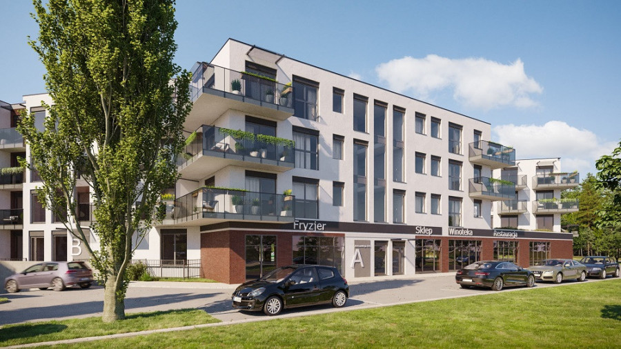 Pruszcz Park 0.B.2- mieszkanie 2-pok. na parterze z ogródkiem: zdjęcie 87493364