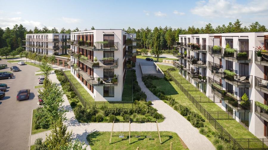 Pruszcz Park 0.B.2- mieszkanie 2-pok. na parterze z ogródkiem: zdjęcie 87493371
