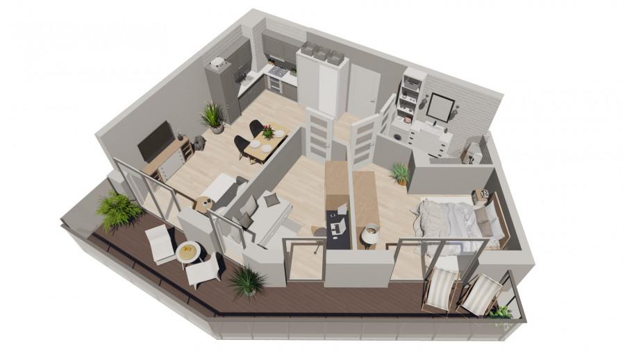 Pruszcz Park 2.C.27- mieszkanie 3pok na II piętrze: zdjęcie 87251821