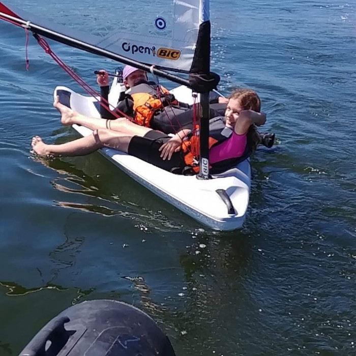 Półkolonie żeglarskie O'Pen Skiff Sopot 2021 Bon Turystyczny: zdjęcie 87032157