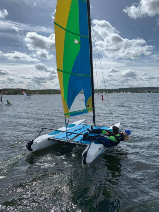 Półkolonie żeglarskie O'Pen Skiff Sopot 2021 Bon Turystyczny: zdjęcie 87032164